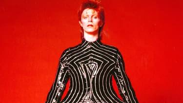 David Bowie en 1973.
