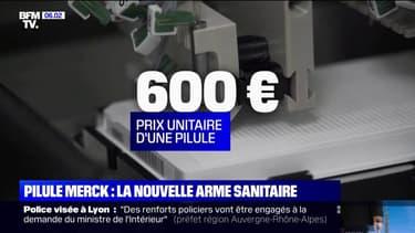 Traitement contre le Covid-19: la France commande 50.000 doses de la pilule du laboratoire Merck