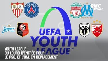 Youth League : Du lourd d'entrée pour le PSG, et l'OM, en déplacement