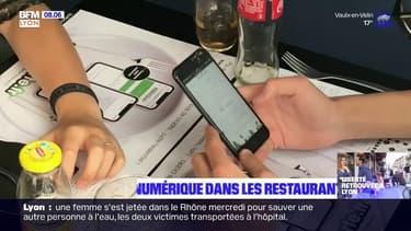 Lyon: des restaurants optent propose un menu numérique pour limiter les risques de contamination