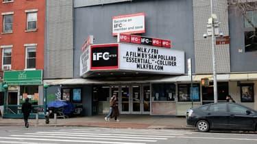 Un cinéma à Greenwich village à New York le 17 juin 2021.