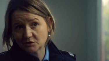 Un extrait du film L'annonce, le dernier court-métrage de la sécurité routière, mettant l'accent sur les gendarmes qui annoncent souvent la perte d'un être cher aux familles.