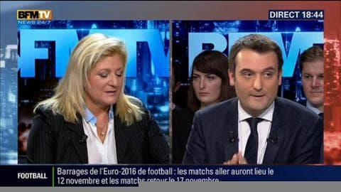 """Questions d'éco: """"Il faut que l'État se bouge pour Air France"""", Florian Philippot"""