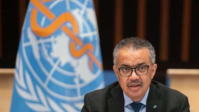 Le directeur général de l'Organisation mondiale de la santé Tedros Adhanom Ghebreyesus (photo d'illustration)