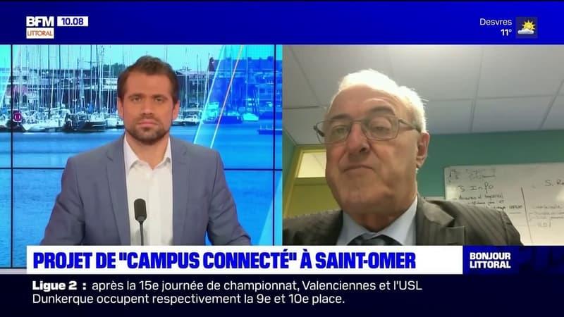 Joël Duquenoy, président de la communauté d'agglomération du Pays de Saint-Omer, détaille le projet de