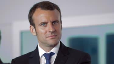 Emmanuel Macron, le 29 mai 2015.