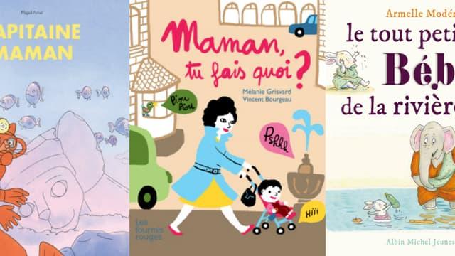 Fête des mères: cinq jolis livres pour les mamans (et les enfants)