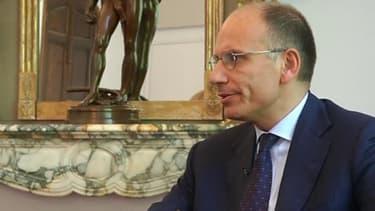 Enrico Letta était l'invité de BFM Business.