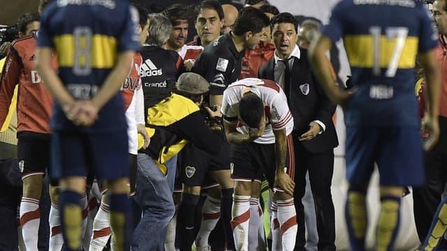 Boca Juniors-River Plate : confusion autour de Marcelo Gallardo et des joueurs de River