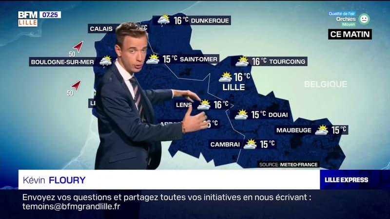 Météo Nord-Pas-de-Calais: un temps encore mitigé avec des températures fraîches et des averses