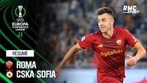Résumé : Roma 5-1 CSKA Sofia - Conference League J1