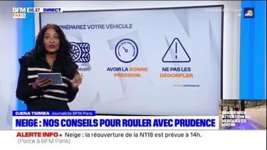 L'Île-de-France sous la neige : Patience, vigilance et prudence !