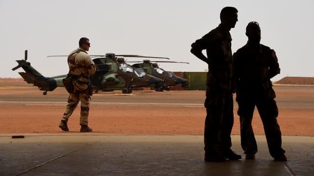 Des militaires français au Mali, en 2017
