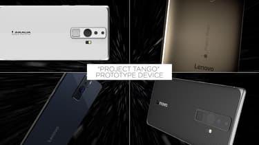 Le premier smartphone Lenovo embarquant la technologie du projet Tango de Google
