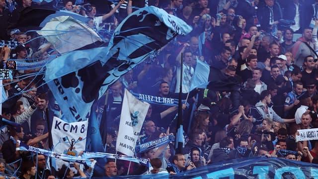 Des supporters du Havre