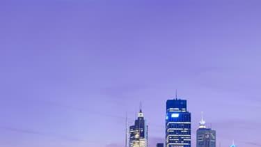 La skyline de Sydney.