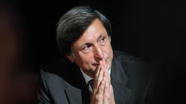 Patrick de Carolis, alors président de France Télévisions, le 30 octobre 2008 à Paris.