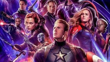 L'affiche d'Avengers:Endgame.
