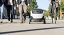 Ces tests emploient des véhicules robotisés du constructeur estonien Starship Technologies transportant une charge utile allant jusqu'à dix kilogrammes sur environ six kilomètres.