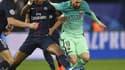 Presnel Kimpembe, impérial contre le Barça, a dégoûté Lionel Messi.