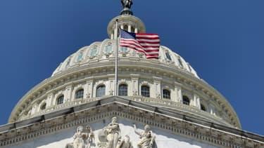 Le Capitole, siège à Washington du Congrès américain, le 11 mai 2021