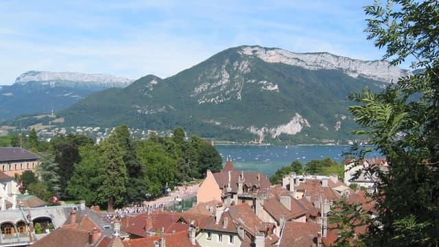 Annecy, vue de la vieille ville