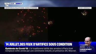 Les traditionnels feux d'artifice du 14 juillet démarrent un peu partout en France