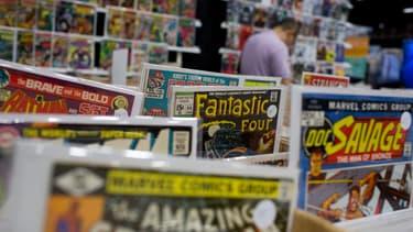 Les vieilles éditions originales de Comics américains s'échangent à prix d'or.