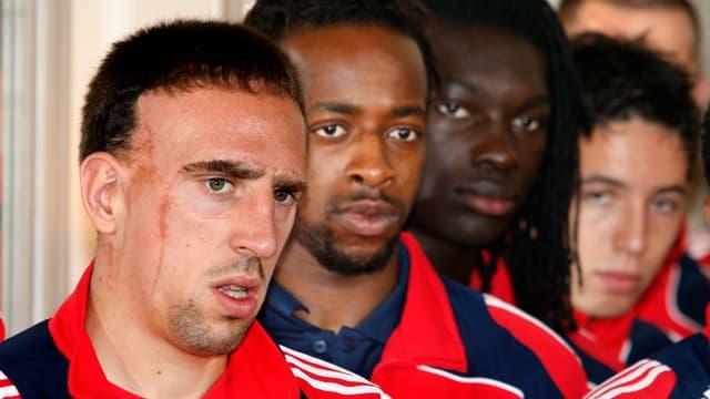Franck Ribéry ne comprend pas