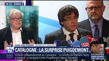 Élections en Catalogne: Rajoy refuse de rencontrer Puigdemont