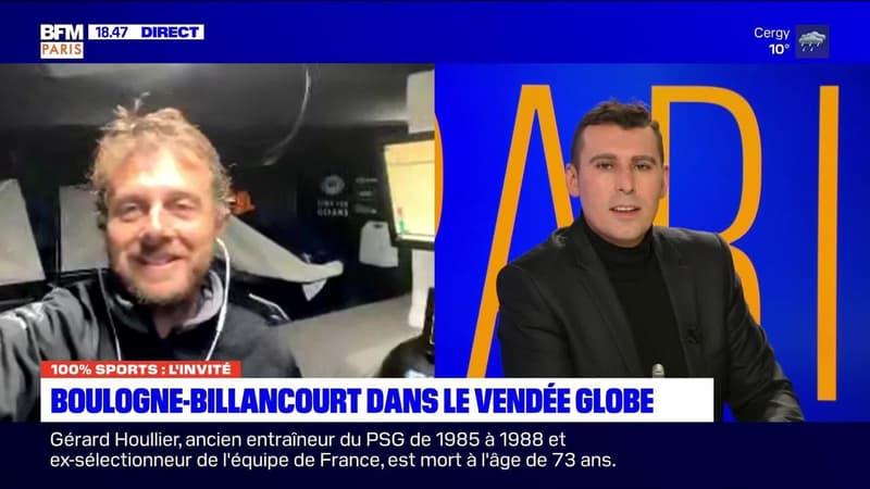 100% sports Paris: Boulogne-Billancourt dans le Vendée globe - 14/12
