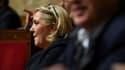 Marine Le Pen le 17 octobre 2018.