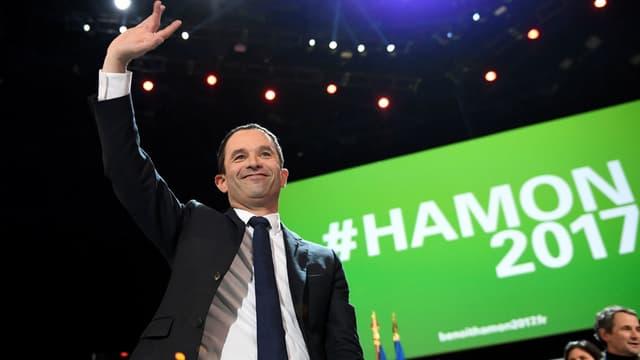 Benoît Hamon à Bercy.