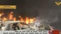 Une voiture piégée a explosé dans la banlieue de Beyrouth mardi matin.