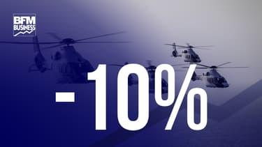 Airbus Helicopters annonce des baisses de livraisons (-9,6%)
