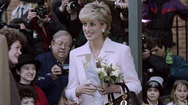 Lady Di à Londres en 1996
