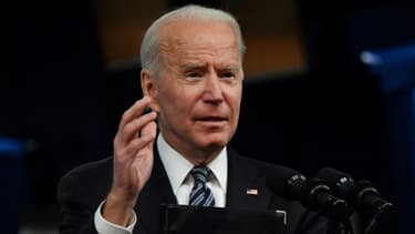 Le président américain Joe Biden s'exprime depuis la Maison Blanche le 12 mai 2021