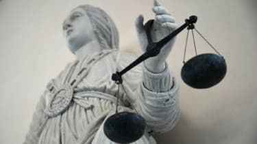 Le symbole de la justice. Photo d'illustration.
