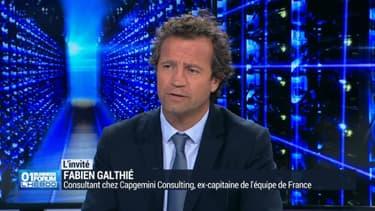 Fabien Galthié, ancien capitaine de l'équipe de France de rugby, consultant chez Capgemini Consulting