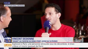 """Scène sur Seine: L'interview de Vincent Dedienne, à l'affiche de """"Evart"""" actuellement au Théâtre du Rond Point"""