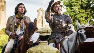 """Adam Driver et Jonathan Pryce dans """"L'homme qui tua Don Quichotte"""", en salles le 19 mai 2018"""