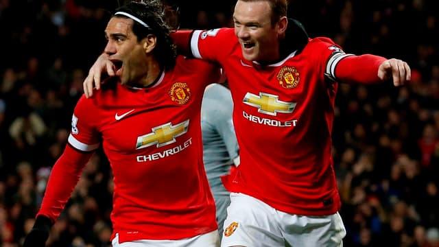 Radamel Falcao peut aussi compter sur le soutien de Wayne Rooney