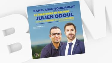 Kamel Agag-Boudjahlat et Julien Odoul
