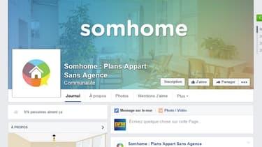 Le site a démarré comme une page Facebook