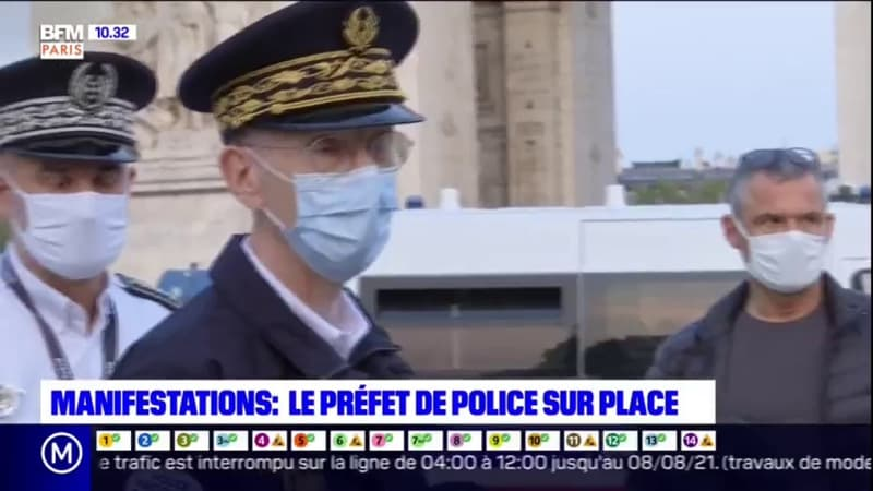 Paris: le préfet de police fait le point sur le dispositif mis en place pour les manifestations