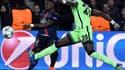 Serge Aurier contre Manchester City