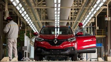 Image d'illustration - L'usine de Renault-DongFeng à Wuhan, ici photographiée en 2016. Renault n'y produira désormais plus de véhicules thermiques.