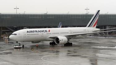 """Air France a indiqué qu'elle n'avait pas encore de """"visibilité"""" sur les conséquences de cette grève."""