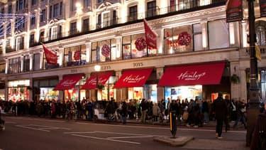 Le Hamleys de Regent street à Londres