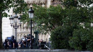 Notre-Dame de Paris le 6 juin